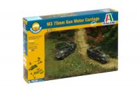 Italeri Fast Assembly military 7510 - M3 75mm HALF TRACK (1:72)