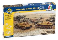 Italeri Fast Assembly military 7519 - SEMOVENTE M40 da 75/18 (1:72)