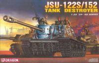 Dragon Model Kit military 6047 - JSU 122S/152 Tank Destroyer (1:35)
