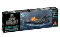 Italeri Model Kit World of Warships 46502 - IJN ATAGO (1:700)