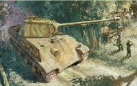 Dragon Model Kit tank 6267 - PANTHER G EARLY PRODUCTION PZ.RGT.26 ITALIAN FRONT (1:35)