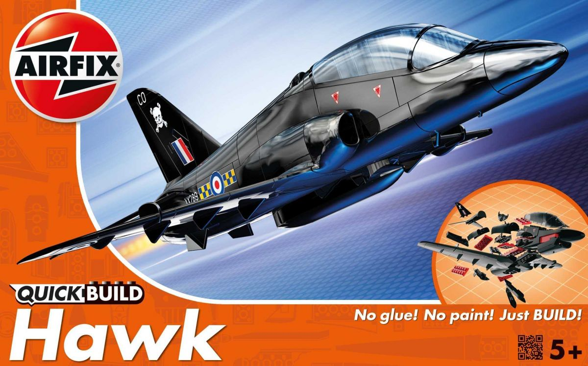 Airfix Quick Build letadlo J6003 - BAE Hawk