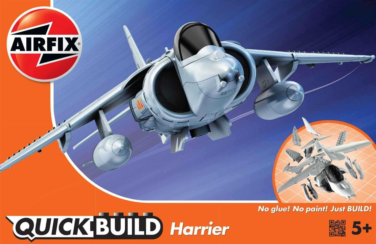 Airfix Quick Build letadlo J6009 - Harrier