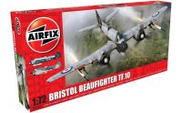 Airfix Classic Kit letadlo A05043 - Bristol Beaufighter Tf.10 (1:72)