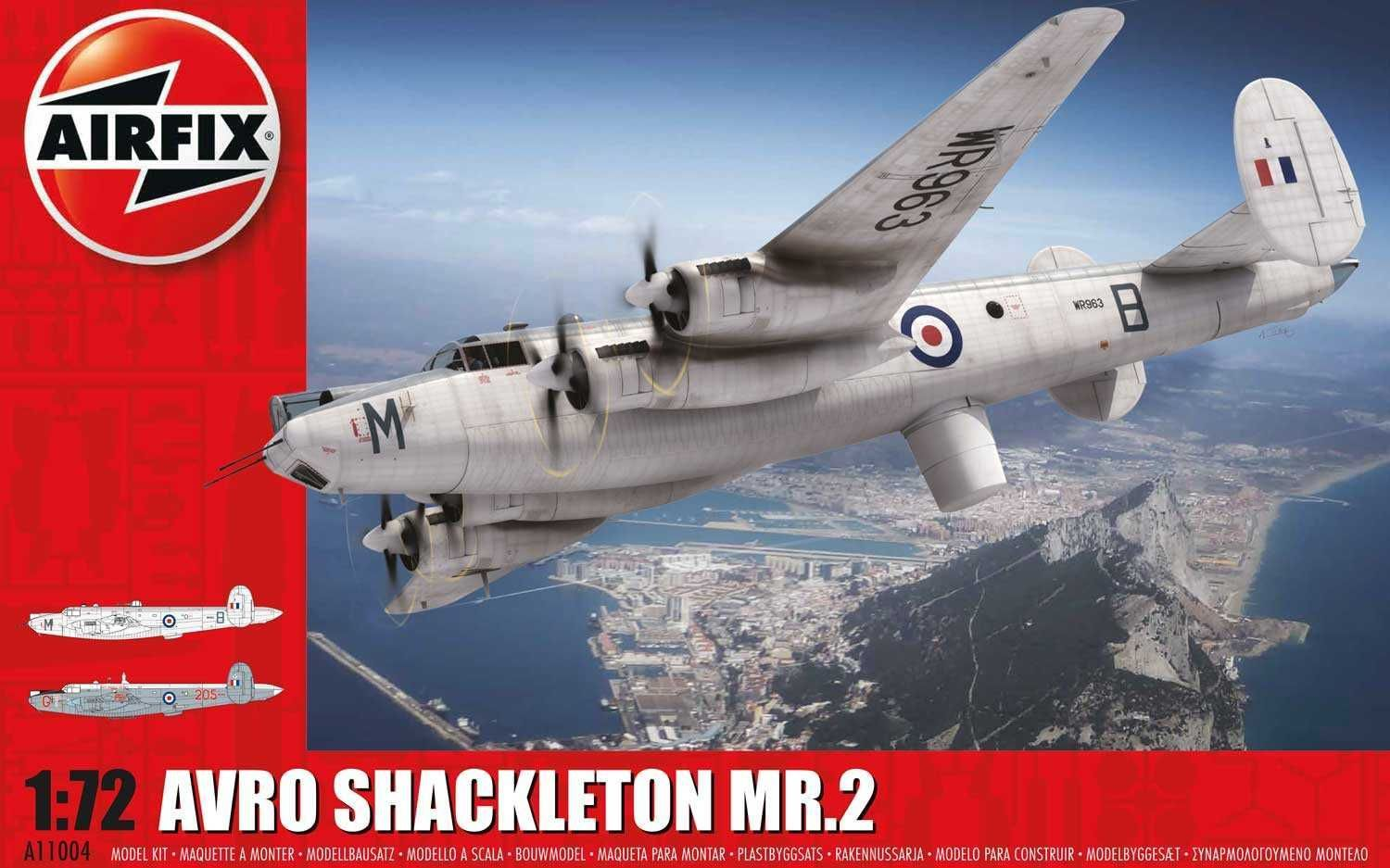 Airfix Classic Kit letadlo A11004 - Avro Shackleton MR2 (1:72)