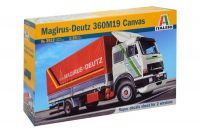 Italeri model Kit auto 3912 - MAGIRUS DEUTZ 360M19 CANVAS (1:24)