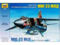 Zvezda Model Kit letadlo 7218 - MIG-23 MLD Soviet Fighter (re-release) (1:72)