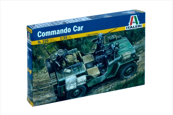 Italeri Model Kit military 0320 - COMMANDO CAR (1:35)