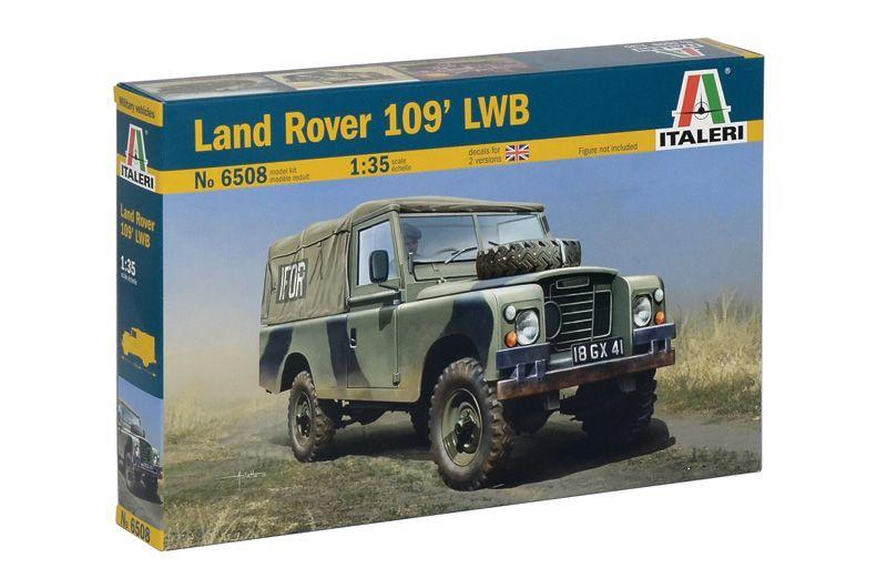 Italeri Model Kit military 6508 - LAND ROVER 109' LWB (1:35)