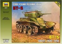 Zvezda Model Kit tank 3507 - Soviet Tank BT-5 (1:35)