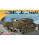 Dragon Model Kit tank 7327 - Churchill Mk.III AVRE (1:72)