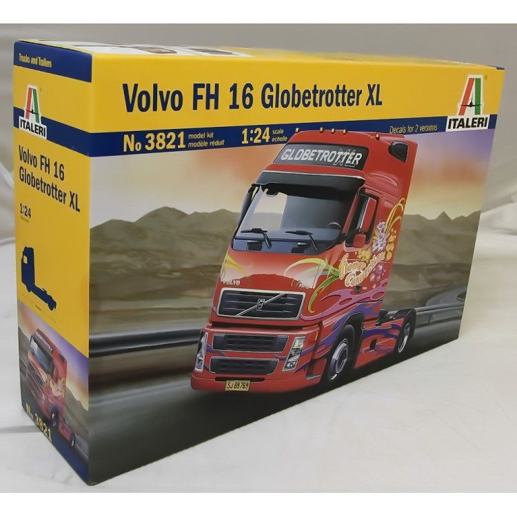 Italeri Model Kit truck 3821 - VOLVO FH16 GLOBETROTTER XL (1:24)