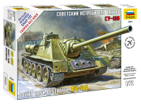 1:72 Soviet Tank Destroyer SU-100