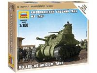 1:100 M-3 Lee US medium tank